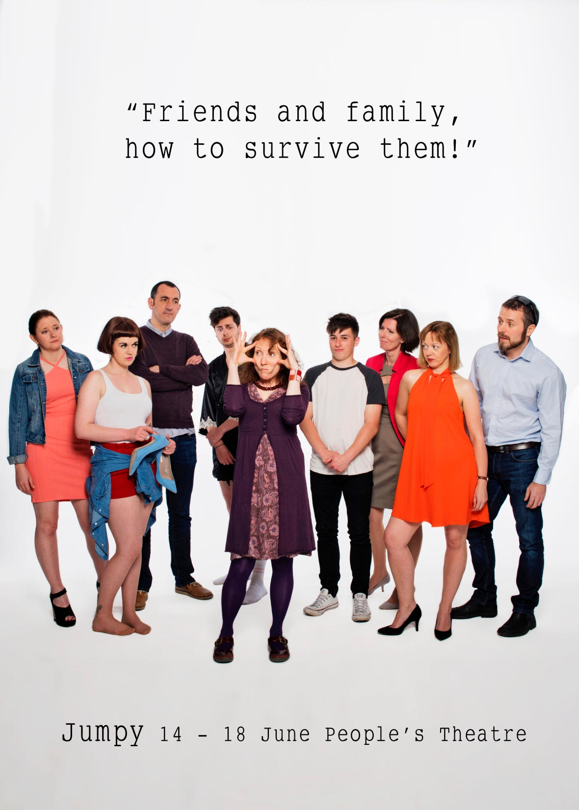 ALL Tilly, Lyndsey, Mark, Cam, Hilary, Josh, Bea, Frances, Roland